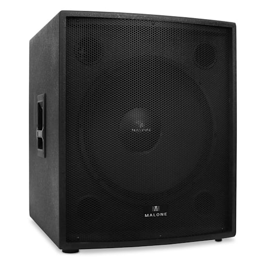 """PW-18A-M 18"""" Active Subwoofer 1250W RMS"""