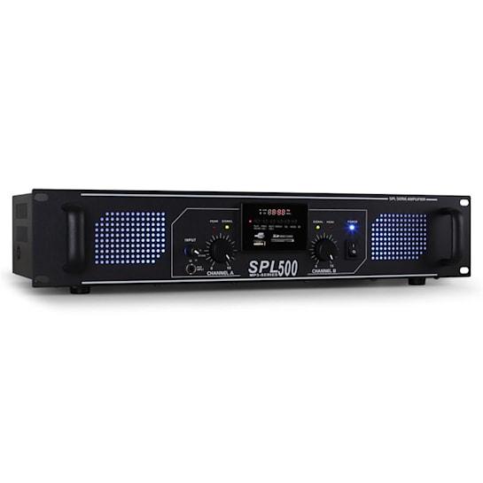 SPL-500 W DJ PA HIFI POJAČALO SD USB MP3 SISTEM