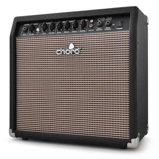 CG-30 E-Gitarrenverstärker 25cm Overdrive Reverb