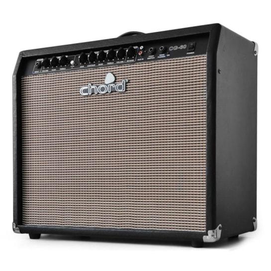 Zesilovač pro elektrickou kytaru Chord CG-60, 30 cm, drive,