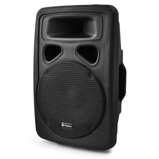 SP1000A PA Aktiv-Lautsprecher 25cm Aktiv PA-Box 400W max. ABS
