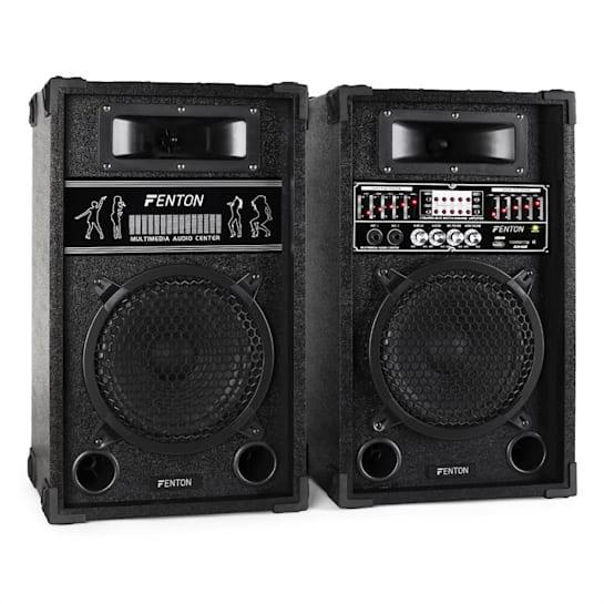 SPA800 PA set de difuzoare activ de 20 cm 600W USB SD MP3