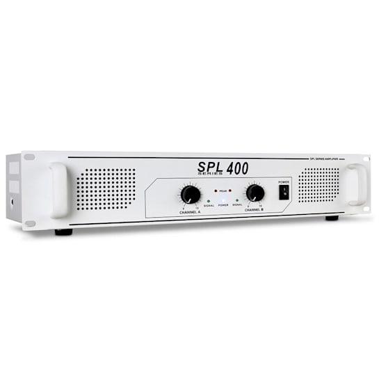 SPL-400 Amplificatore PA HI-FI 400W Bianco