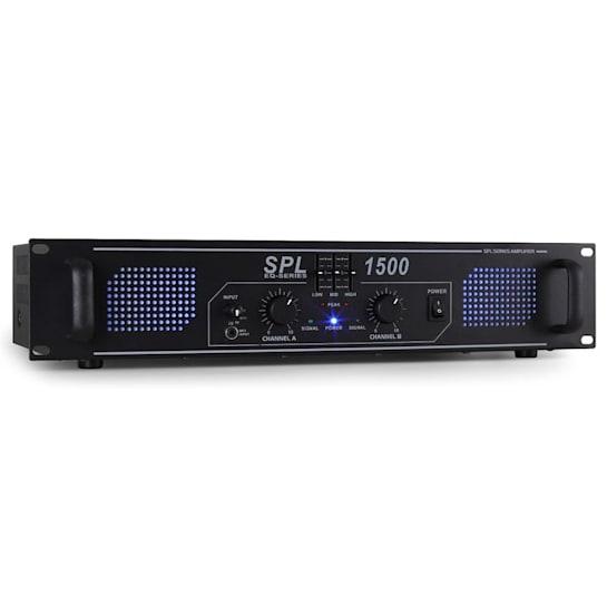 SPL-1500-EQ Amplificatore hi fi PA Rack 4200W