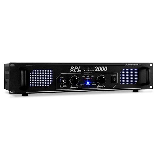 SPL-2000-EQ Amplificatore hi fi PA Rack