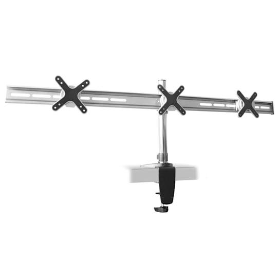staffa da tavolo ET01-C06 per 3 schermi <3x8kg