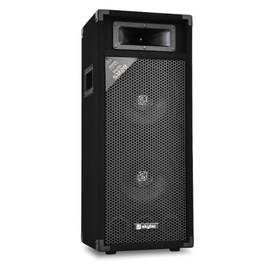 SM28 PA-Lautsprecher 2x20cm 500W PA-Box
