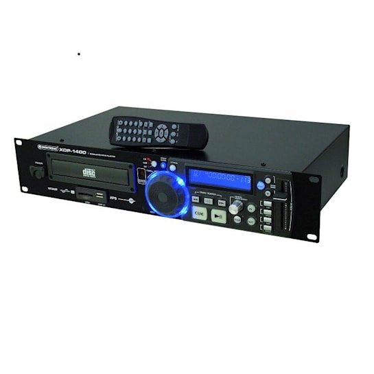 XDP-1400 lettore CD/MP3 SD USB rack