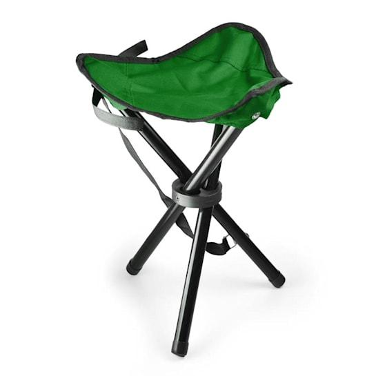 Sedia da campeggio mobile verde nera 500g