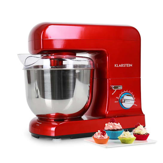 Gracia Rossa Stand Mixer 1000W 1.3 HP Red