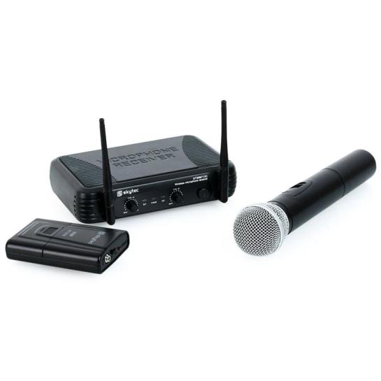STWM712C set radiomicrofoni a 2 canali mic auricolare