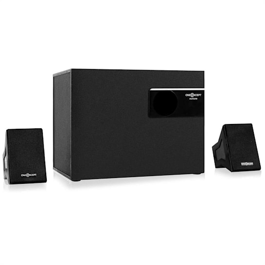 Hi2028 aktives 2.1-Lautsprechersystem 20W RMS schwarz