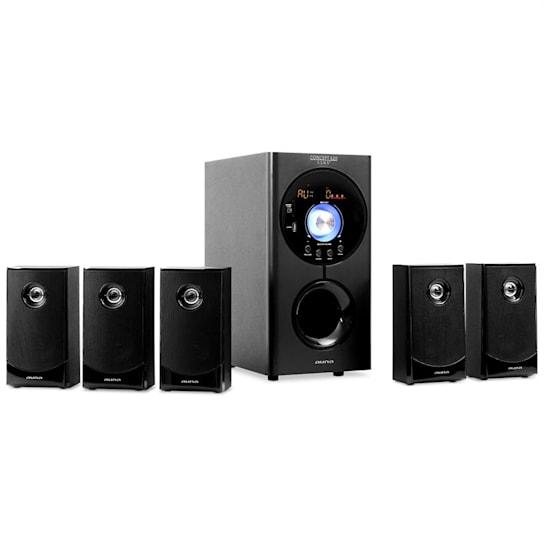 Concept 620 5.1 Surround SoundSpeaker System USB SD AUX Bluetooth 95 W RMS