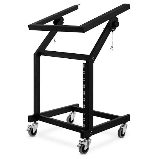 Rack Stand supporto DJ 48 cm con ruote