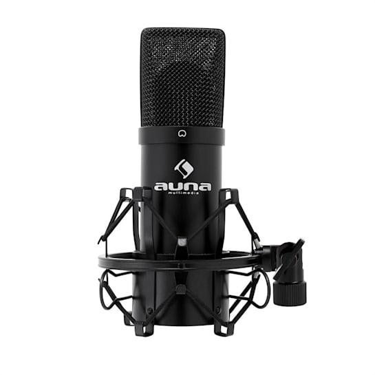 MIC-900B Micrófono condensador estudio USB Negro