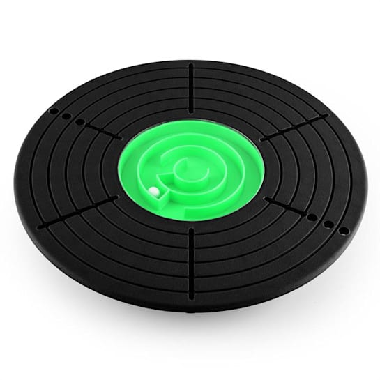 Labyrinth Balance Board <100kg 33.3cm - Black - Green