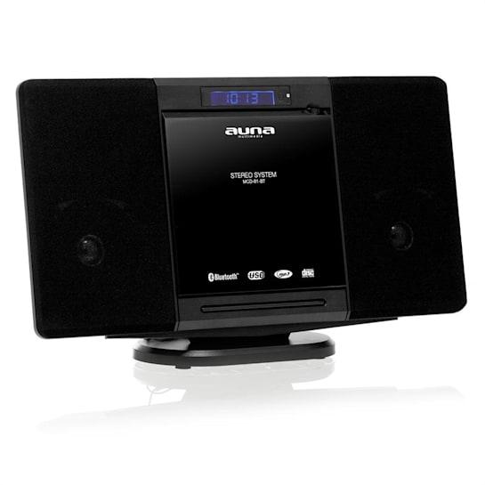 MCD-81-BT Aparelhagem Bluetooth USB HiFi AUX FM Preto