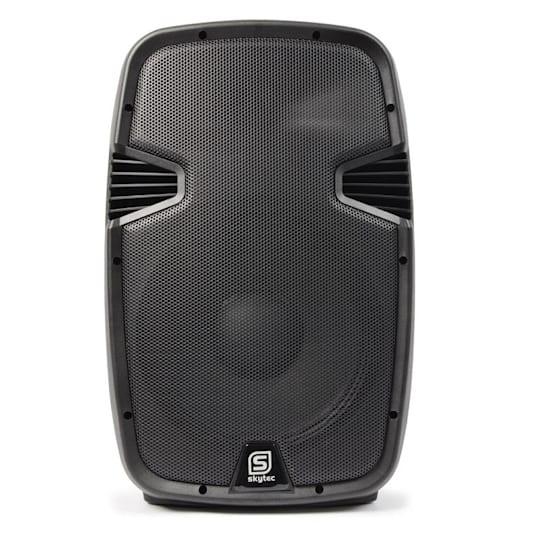 """SPJ1200ABT PA Aktiv-Lautsprecher aktiver 30cm (12"""")-Lautsprecher 600W MP3 SD AUX Bluetooth"""