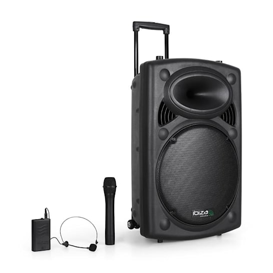 "Port15VHF-BT sound system 38 cm (15"") USB SD bluetooth"
