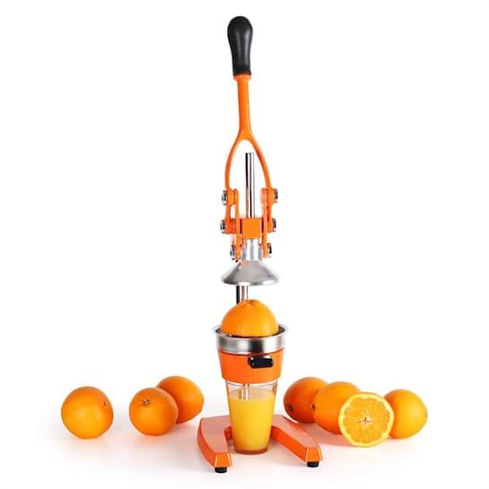 Klarstein OJ1-EcoJuicer XXL, odšťavňovací lis, oranžový