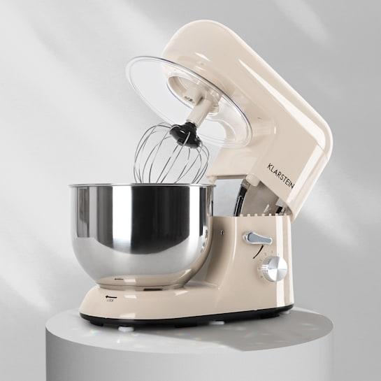 Bella Küchenmaschine 2000 W / 2,7 PS 5 Ltr Edelstahl BPA-frei