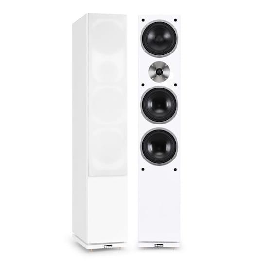 line-600-WH Passive Floor Standing Speaker Pair 140W RMS White
