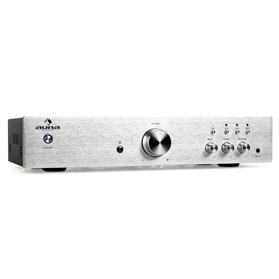 AV2-CD508 Amplificatore hi fi 600W argento