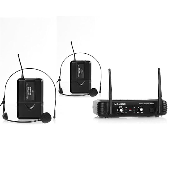 UHF-250 Duo2 Set radiomicrofoni UHF 2 canali