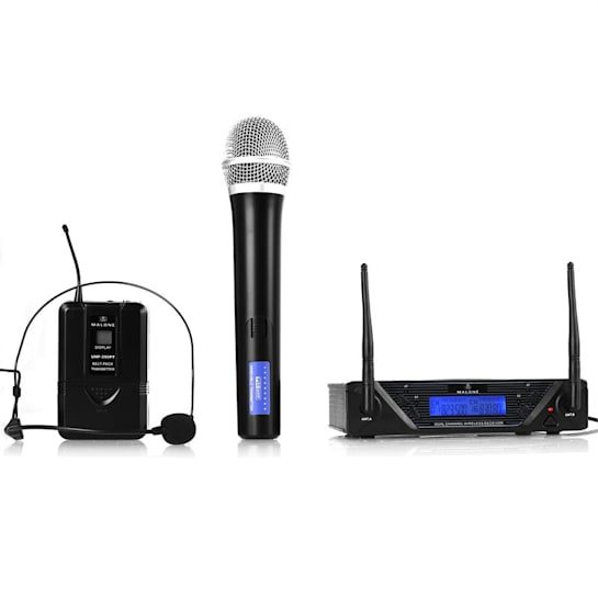 UHF 450 Duo UHF Wireless Microphone Set 2-Channel