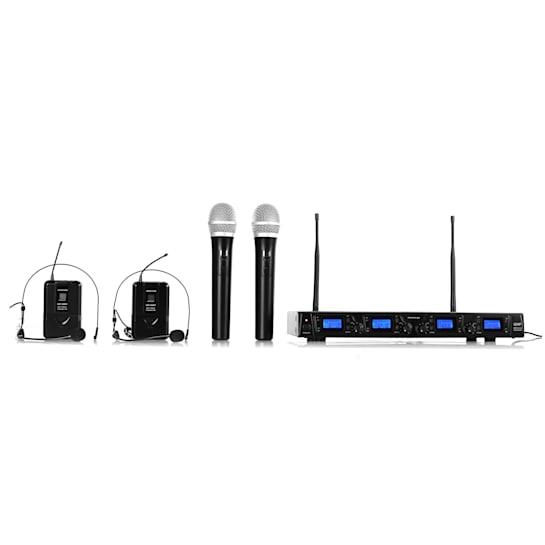 UHF-550 Quartett3 Set microfono radio