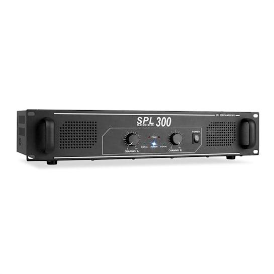 SPL-300 DJ PA-Verstärker 2-Kanal-Verstärker 2 x 150 Watt LED