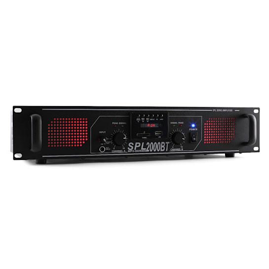 SPL 2000BTMP3 amplificatore bluetooth USB SD 2000W