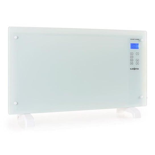 HT007GL Konvektionsheizgerät 2000W Glas Design weiß