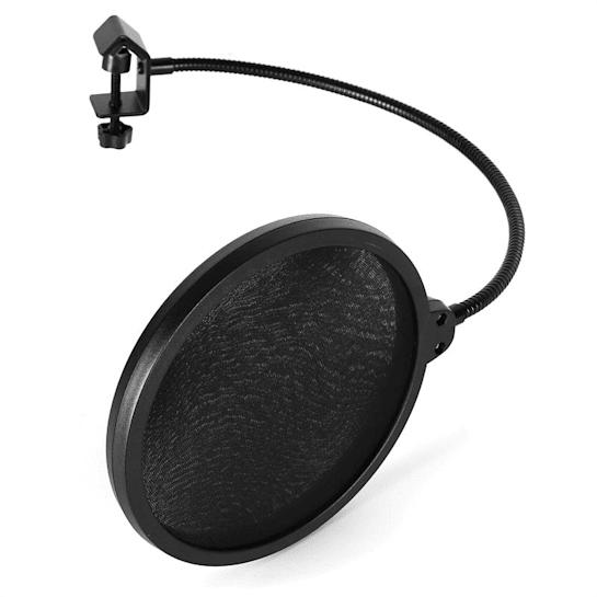 POP-1 mikrofonin pop-suoja tuulisuoja
