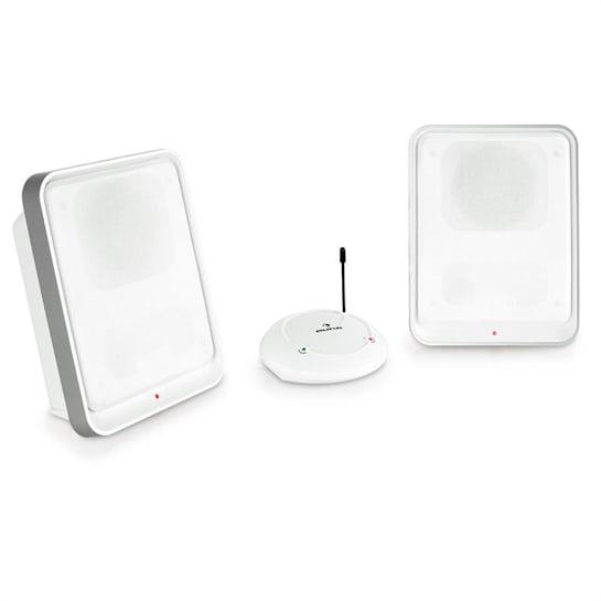 Loft Enceinte sans fil 2 canaux système UHF -blanc