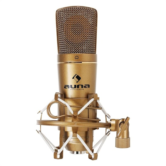 CM600 USB кондензаторен микрофон, бронзов, студиен