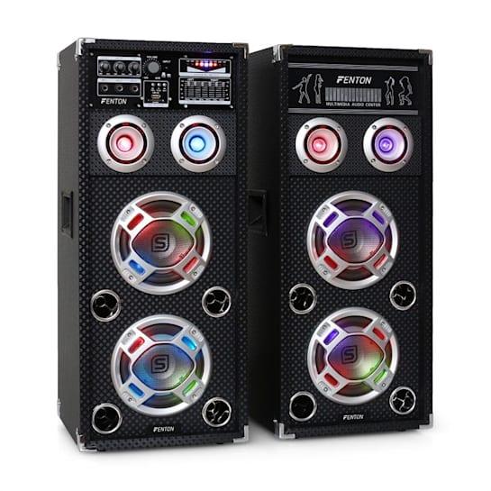 KA-26 aktives Karaoke-PA-Lautsprecher Set USB SD AUX