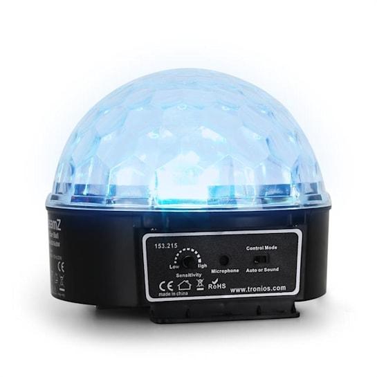 Mini Star Ball Sound RGBWA LED 6x3W