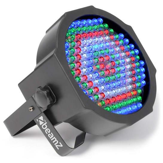 LED FlatPAR 154x 10mm RGBW IR-Fernbedienung