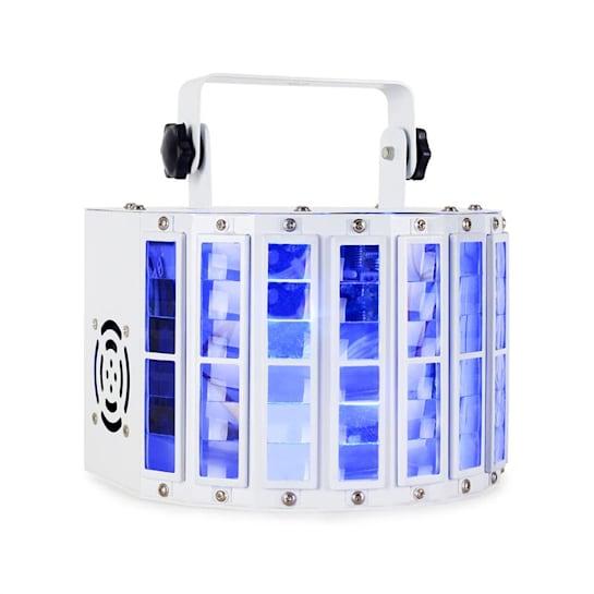 LED Derby LED fényeffekt, DMX, RGBW