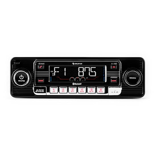 TCX-1-RMD Car Stereo Radio Bluetooth USB SD MP3 AUX CD