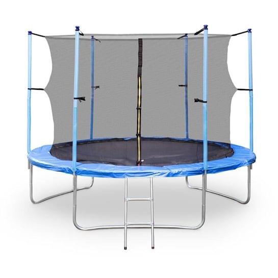 Rocketboy XXL -trampoliini 305cm turvaverkko sininen