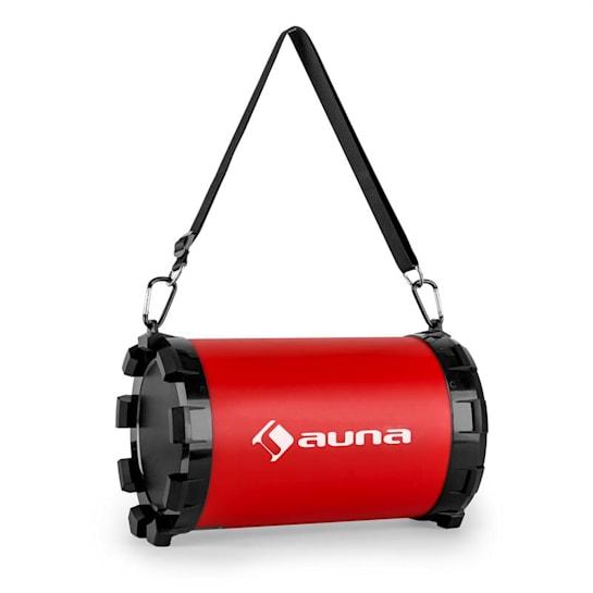 Dr. Red Boom 2.1-Bluetooth-Lautsprecher 20 W max. USB SD AUX Akku
