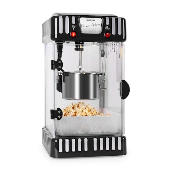 Volcano 300W Popcorn Machine Stainless Steel Kettle Black