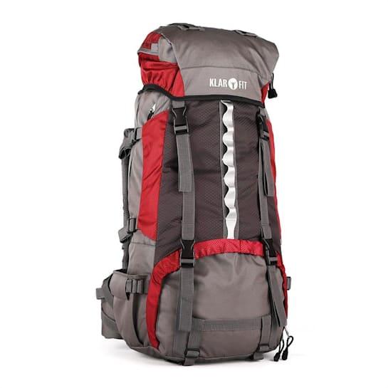 Heyerdahl plecak trekkingowy 70L system X-Transition ładowany od góry czerwony
