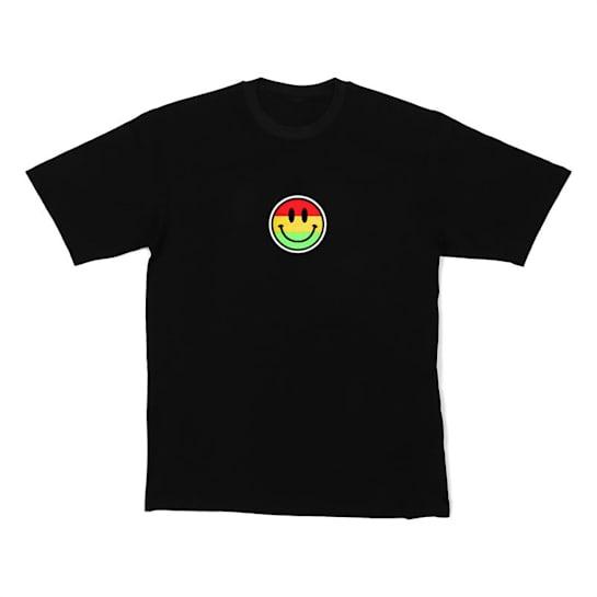 LED-Shirt Color Smiley taglia L