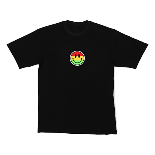 LED-Shirt Color Smiley taglia XL