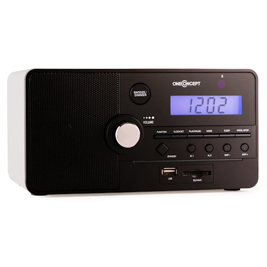 Luzern radiosveglia SD USB bianca
