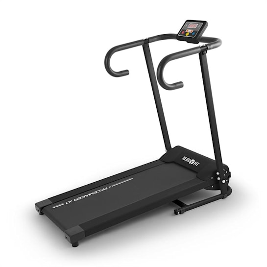 Pacemaker X1 Laufband 10 km/h Trainingscomputer schwarz