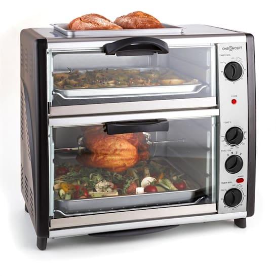 All-You-Can-Eat Dubbele oven met grillplaat 42 liter 2400 W